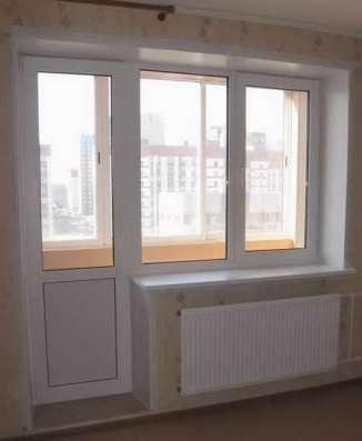 Установка пластиковых балконов и окон