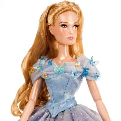 Коллекционная лимитированная кукла Золушка Дисней США