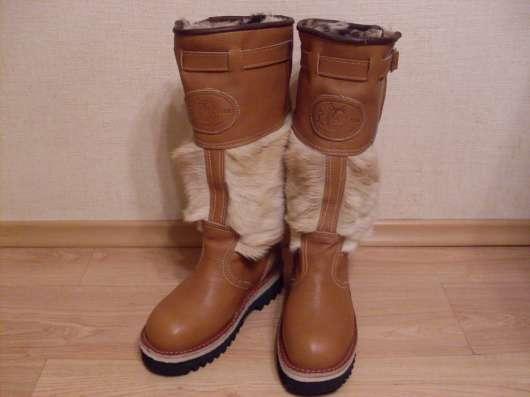 Продам монгольские сапоги-унты