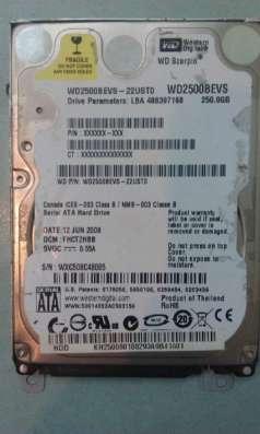 жесткий диск Hitachi 500Gb в Сургуте Фото 1