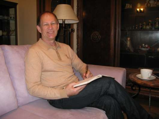 Английский язык с носителем языка, профессор Йельского унив. США