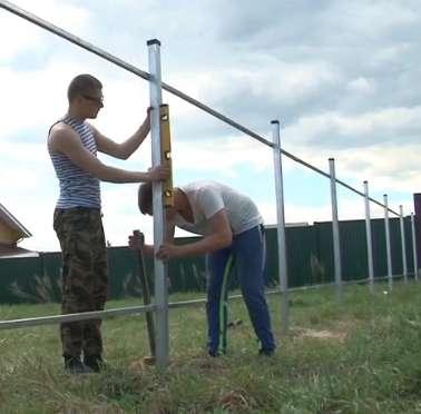 """Установка заборов под""""ключ"""",на оцинкованном каркасе,надёжно в Нижнем Новгороде Фото 4"""