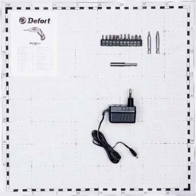 Аккумуляторная отвертка Defort DS-36N-LT
