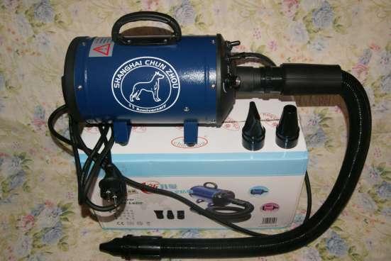 Профессиональный компрессор для сушки собак