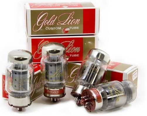 Радиолампы KT88 Genalex Gold Lion квартет
