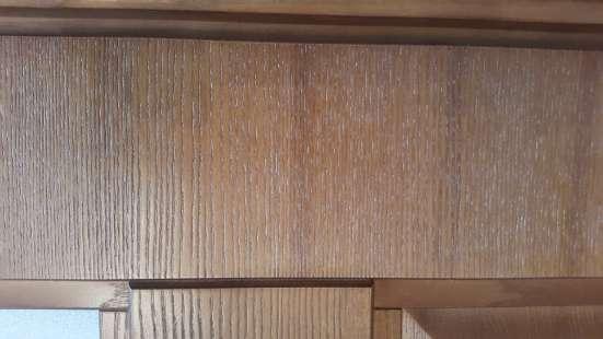 Дверь, неоклассика, массив ясеня, цвет орех