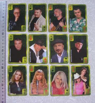 Редкость Колода карт Звезды шансона в Москве Фото 4