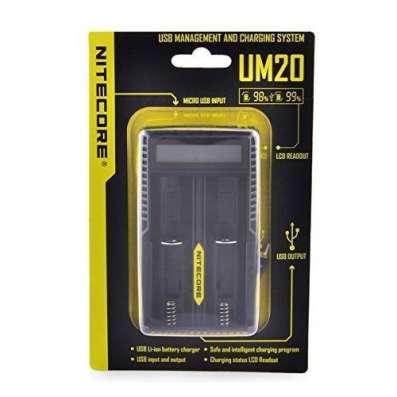 Автоматическое зарядное устройство NiteCore UM20