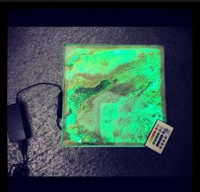Каменный шпон на просвет (Translucent), для витражей