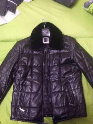 Кожаная куртка Ritter (воротник норка)