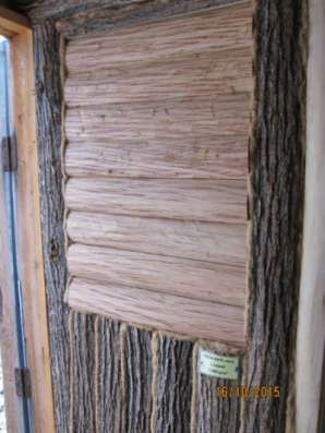 Липовый блок-хаус с лыком 40-70мм