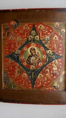 Икона М.Божья «Неопалимая Купина». 19 в. в Санкт-Петербурге Фото 2
