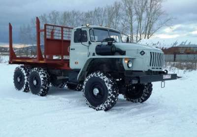 грузовой автомобиль УРАЛ 43204 лесовоз в г. Усинск Фото 2