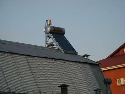 Солнечный водонагреватель для дачи 150 литров