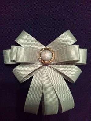 Брошь-галстук-бантик для девочки