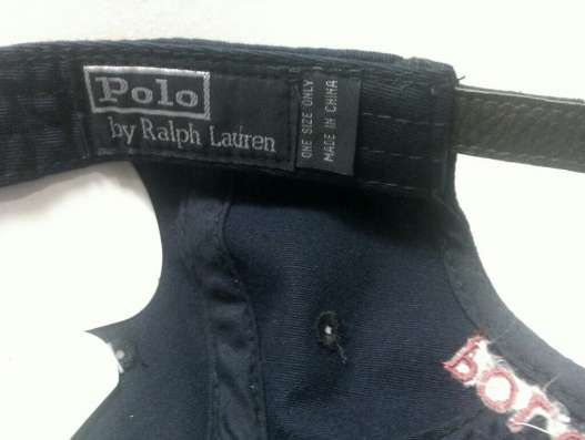 Бейсболкa polo by Ralph Lauren black в Москве Фото 3