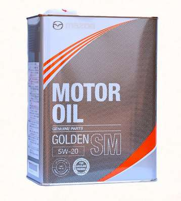 Масло моторное Mazda Golden SM 5W20 синтетика 4литра