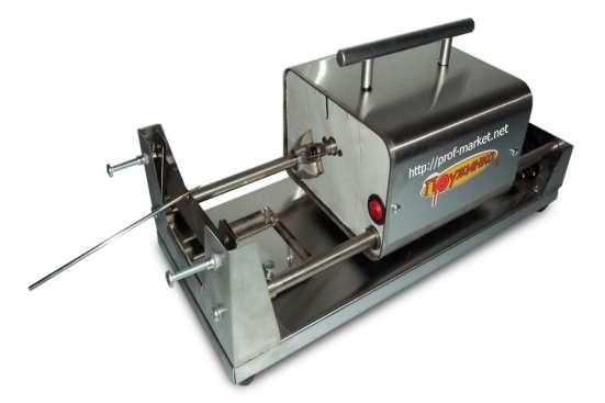 Аппарат для нарезки спиральных (фигурных) чипсов УРФЧ-40