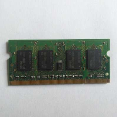 Оперативка Samsung DDR2 SO-DIMM 512MB PC2-5300 667MHZ