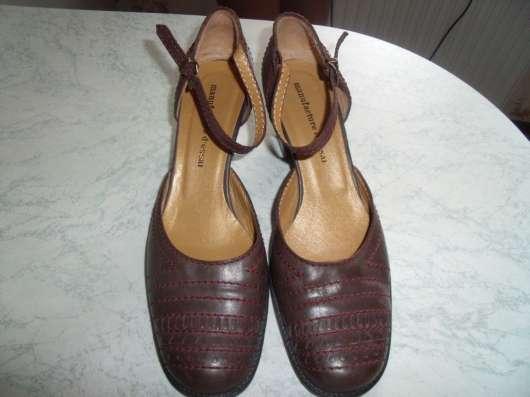 Стильные туфли manufacture d essai кожа р.37