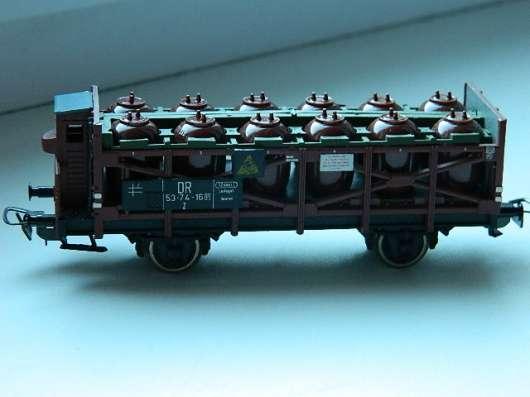 Платформа с резервуарами к детской железной дороге PIKO в Челябинске Фото 1