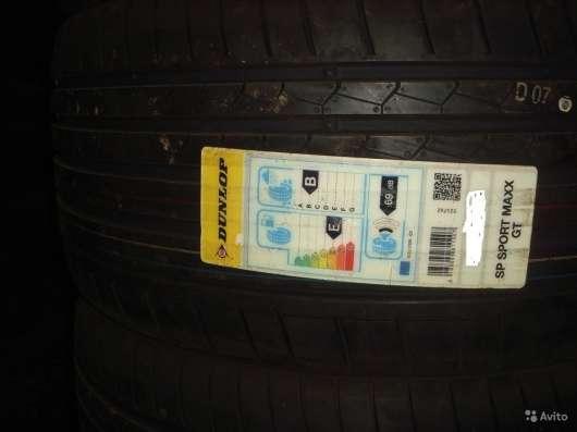 Новые спарка R20 Dunlop 255 35 и 275 35 GT