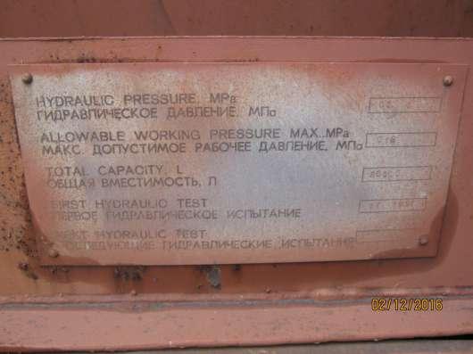 Ёмккость нержавеющая 20т под контейнеровоз