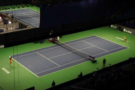 Строительство теннисных кортов в г. Минск Фото 1