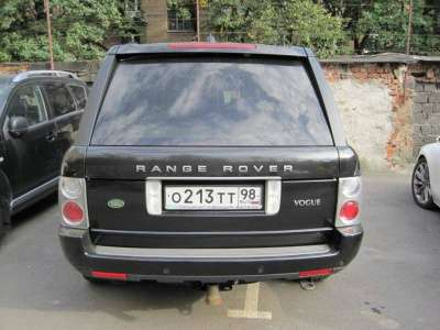 внедорожник Land Rover Range Rover Vogue