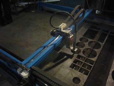 Станок плазменной резки металла с ЧПУ