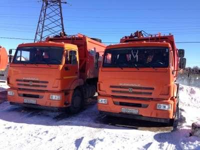 Мусоровоз КАМАЗ ко 440-7