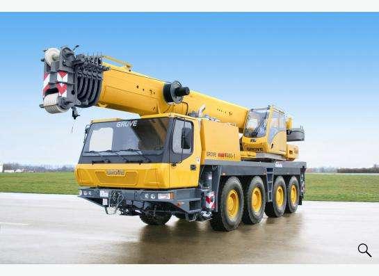 Аренда автокрана 80 тонн 41(56) метров Grove GMK 4080