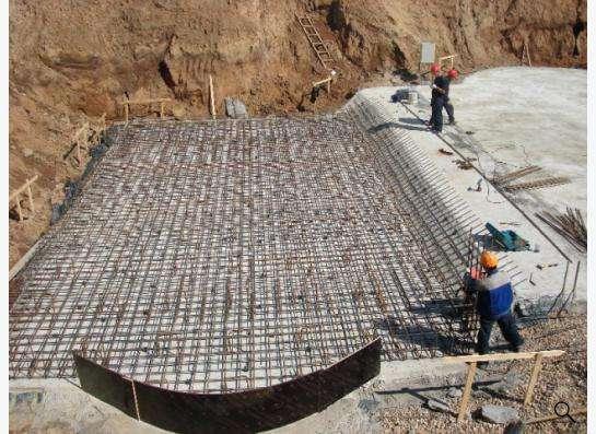 Монолитное строительство фундаментов