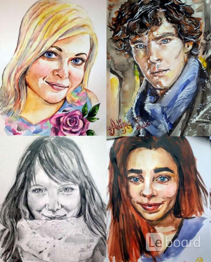 Рисую портреты спб