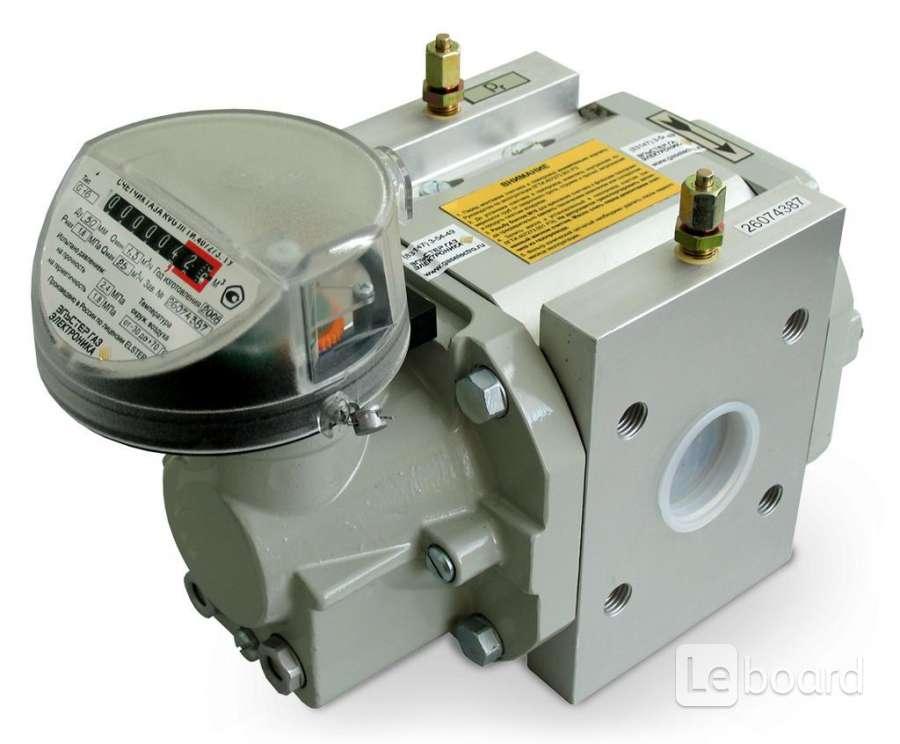 ротационные счетчики газа rvg g65